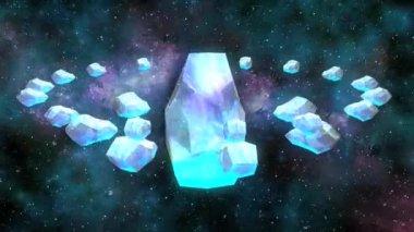Druids circle — Stock Video