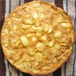 Stock Photo: Rustic apple pie