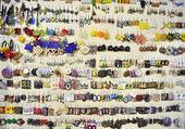 Muchos recuerdos y emblemas — Foto de Stock