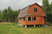 Dacha in the Moscow region — Stock Photo