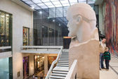 The Interior Of The Central Museum Of Armed Forces, Moscow. The Monument Century I. Lenin — Stock Photo