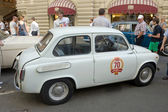 Car Zaporozhets ZAZ-965A on retro rally Gorkyclassic, Moscow — Stock Photo
