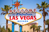 """""""Welcome to Las Vegas"""" sign — Stock Photo"""
