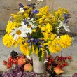Still Life Bouquet Of Yellow Flowers — Stock Photo #29839619