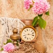 Time concept still life — Stock Photo