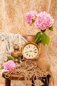 Time concept still life — Foto de Stock