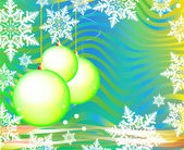 Neujahrs postkarte mit plase für ihren text — Stockfoto