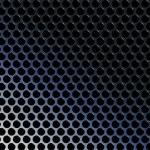 Abstract techno metallic gradient grid vector illustration — Stock Vector