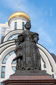 Monument of the Elizabeth of Russia in Rostov on Don - sculptor Sergei Oleshna, opened in the 27th of june, 2007 — Stock Photo