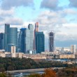 Moscow International Business Center Moscow city — Stock Photo