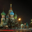 St Basils Cathedral at winter night — Stock Photo #37302669