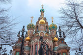 Church of the Savior on Blood, St Petersburg, Russia — Stockfoto