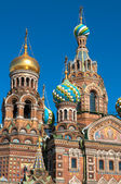 Cupola of the Church of the Savior on Blood, St Petersburg, Russia — Foto Stock