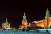 Red Square at the evening — Foto Stock