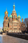 Church of the Savior on Blood, St Petersburg, Russia — Foto de Stock