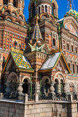 Entrance to the Church of the Savior on Blood, St Petersburg — Stock Photo