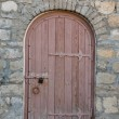 Old architectural details - arched door — Stock Photo #48499249