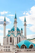 """Mosque """"Kul Sharif"""" in Kazan Kremlin, Tatarstan, Russia — 图库照片"""