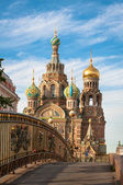 Church of the Savior on Blood, St Petersburg, Russia — Stock Photo