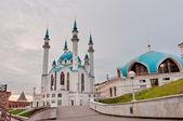 "Moschea ""kul sharif"" nel cremlino di kazan, tatarstan, russia — Foto Stock"