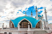 The Kul Sharif Mosque in Kazan Kremlin, Tatarstan, Russia — Stock Photo