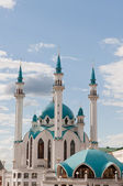 The Kul Sharif Mosque in Kazan Kremlin, Tatarstan, Russia — Stock Photo