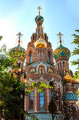 Church or the Saviour on Blode, St Petersburg, Russia — Stock Photo