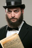 Abraham Lincoln Look Alike — Stock Photo