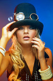 Steampunk Sexy — Стоковое фото
