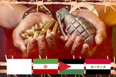 Conflict in the Middle East — Stock Photo