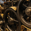 Old printing press — Stock Photo