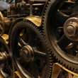 Stock Photo: Old printing press