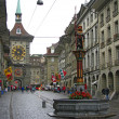Stock Photo: Clock Tower in Bern - Switzerland