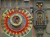 Zytglogge in Bern, Old Astronomical Clock — Stock Photo