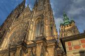Cattedrale di san vito al castello di praga a praga — Foto Stock
