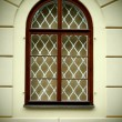 Renaissance old window — Stock Photo