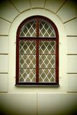 Renaissance old window — Stock Photo