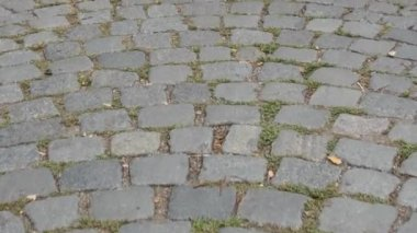 Cobbled street, background No.01 — Stock Video