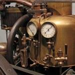 Steam engine, the pressure indicator — Stock Photo #36793055