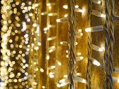 Nostalgic Christmas lights — 图库照片