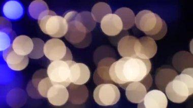Noel ışık parlaklık, bokeh no.03 — Stok video