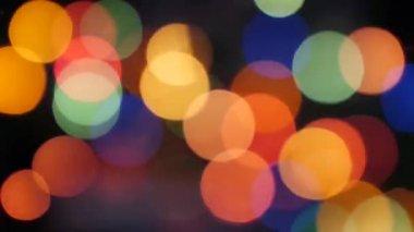 świąteczne oświetlenie poświata, bokeh no.01 — Wideo stockowe