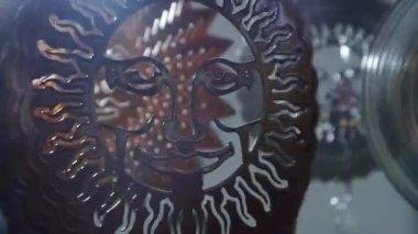Reflected sunlight effect — Stock Video