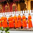 Monk at the Luang Prabang — Stock Photo