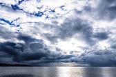 Mansarovar lake — Stock Photo