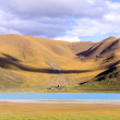 Yamdrok lake — Stockfoto