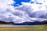Yamdrok lake — Stock Photo