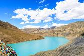 Sjön med berg — Stockfoto