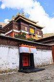 Тибетский дом — Стоковое фото