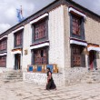 Tibetan house — Stock Photo